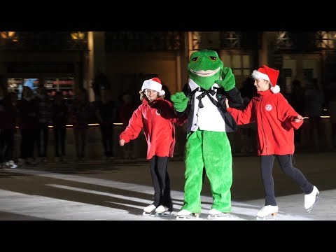 2017 Frog Pond Skating Spectacular and Tree Lighting #1 - Boston Common - Panasonic GH5 4K 60p!