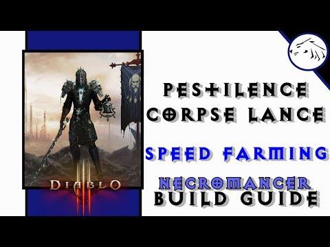Necromancer Corpse Lance Build