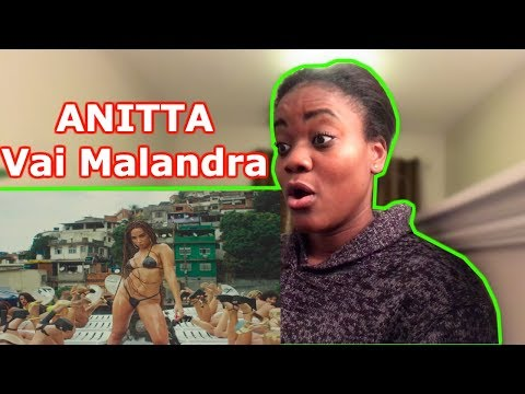 Anitta Mc Zaac Maejor ft Tropkillaz & DJ Yuri Martins - Vai Malandra   - REACTION