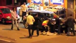 Habesha Fight outside Ethiopian bar in London