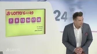 Erste Lottoziehung im Internet: Männliche Lottofee meistert Mini-Panne