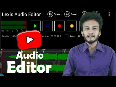 {HINDI} Best Audio Editor App For Android || lexis audio editor || best audio editing app