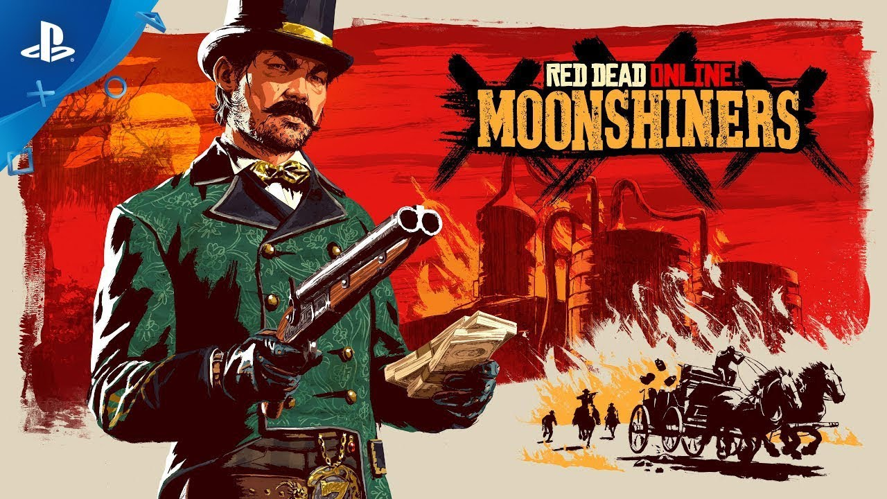 Red Dead Online - Moonshiners