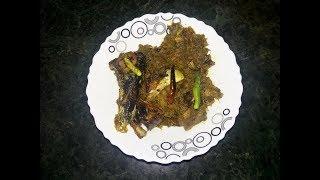 ilish macher matha diye kochu shak ইলিশের মাথা দিয়ে কচু শাক Bangladeshi style ilish recipe ইলিশ মাছ
