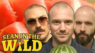 Sean Evans Binging with Babish and the Needle Drop Review Melons  Sean in the Wild