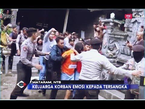 Rekonstruksi Pembunuhan Sadis Polisi di Mataram Berlangsung Ricuh - iNews Pagi 21/12