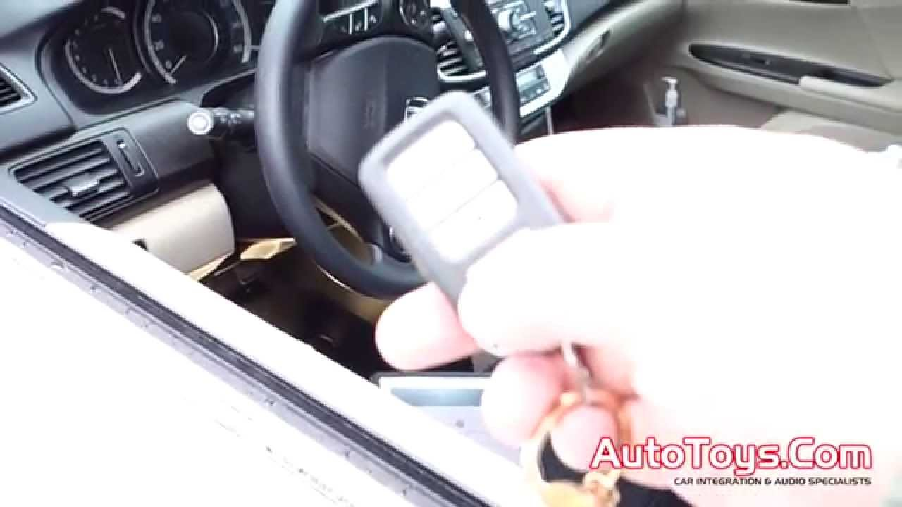 Honda Accord Remote Start From Factory Remotes By Autotoys Com