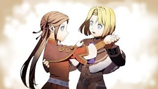 Fire Emblem: Three Houses -  All Scenes about Young Dimitri and Young Edelgard
