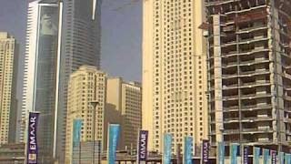 Sandstorm at Dubai Marina