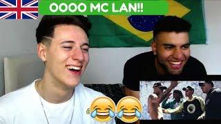 MC LAN - Rabetão (KondZilla) REACTION!!!