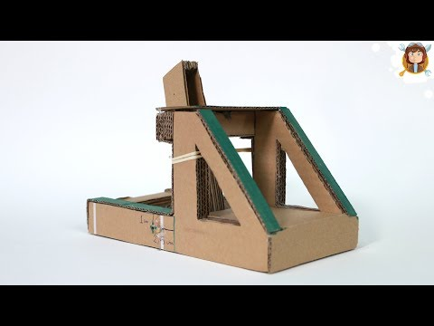 How to Make a Catapult - (Recycled toy)