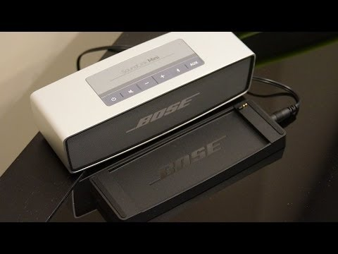 Unboxing And Hands On Bose Soundlink Mini Bluetooth Enabled Speakers