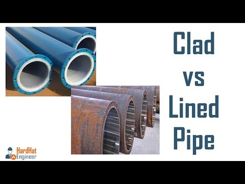 What is Lined and Clad Pipe? Difference Between Line and Clad Pipes -