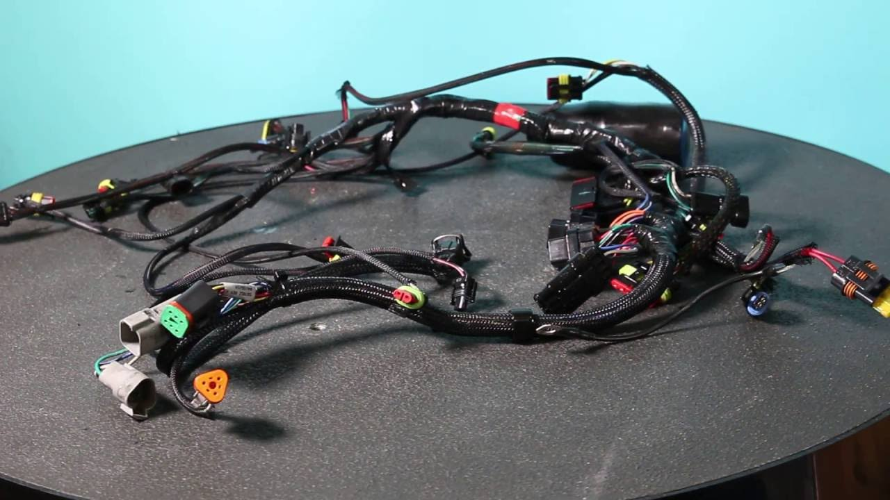 2013 evinrude wire harness 75 90 hp 0587052 [ 1280 x 720 Pixel ]