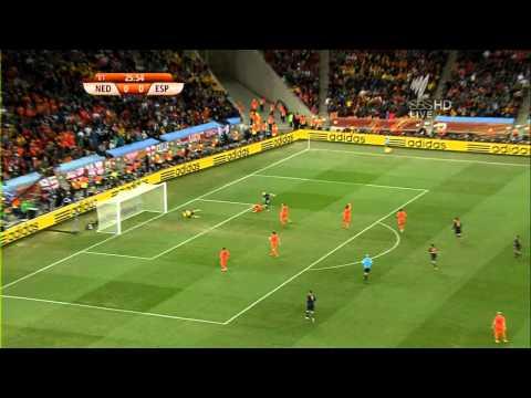 Iniesta 1-0 Spain V Holland World Cup 2010 Final