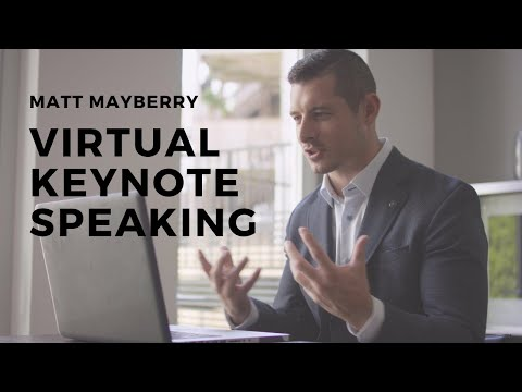 Matt Mayberry Virtual Keynote Experience