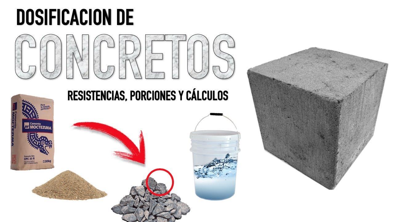 Dosificacion del concreto resistencias c lculos y - Material de construccion segunda mano ...