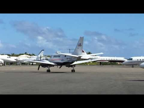 Anguilla Air Services Beechcraft King Air & Britten Norman BN-2 Islander