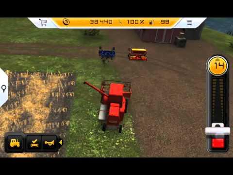 Farming  Simulator  2014 на андроид  1 часть
