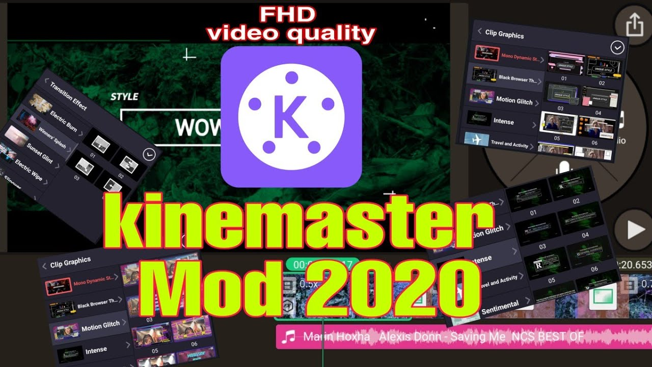 kinemaster mod apk 2020 4k download link  All features unlock - YouTube
