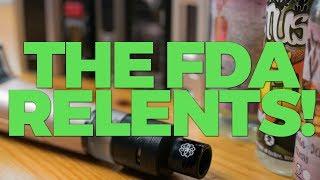 Vaping Is Saved: The FDA Relents!   VapeAM on JuicyJonesHQ