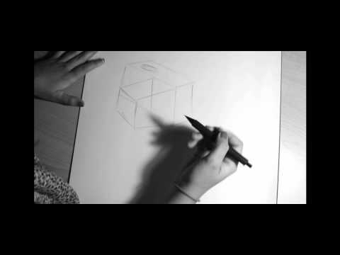 Un dibujo a blanco y negro - YouTube