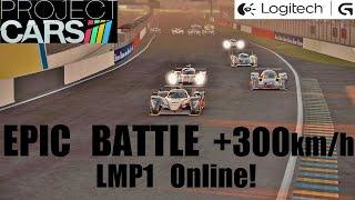 Project CARS Online - Epic Battle @300km/h!
