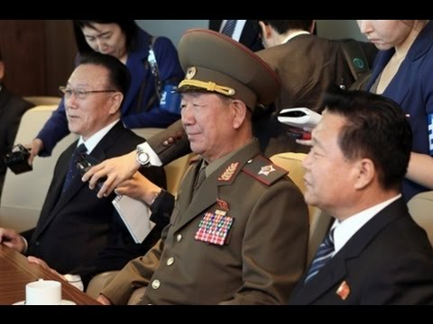 North Koreans make surprise visit to South Korea