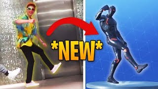 ALL *NEW* Fortnite Dances & Emotes In Real Life | Fortnite Best Moments #53