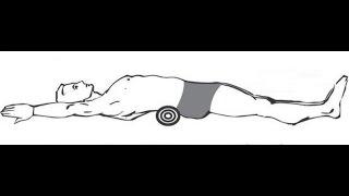 Как похудеть по-японски с помощью валика под спину #похудеть #похудение
