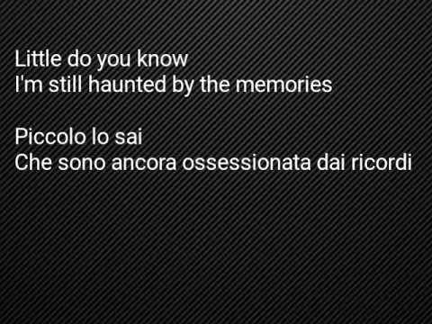 Little do you know lyrics e traduzione