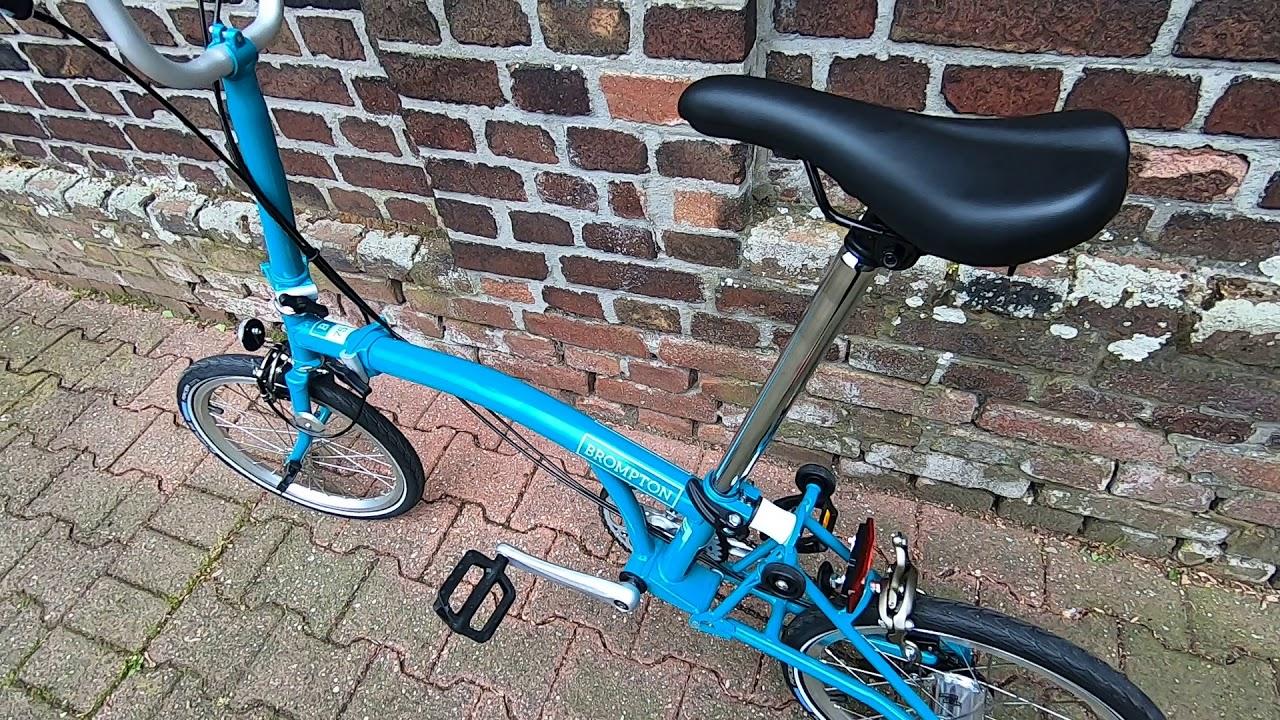 B75 Brompton Folding Bike Review 2019 AkubraBromptonGirl