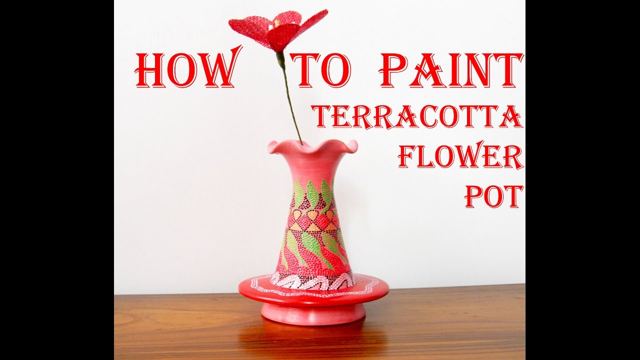 Diy how to paint flower pots clay pot painting crafts tutorial diy how to paint flower pots clay pot painting crafts tutorial final reviewsmspy