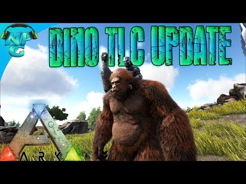 Everything You Need To Know About ARK's New 278 Dino TLC Update! ARK Survival Evolved