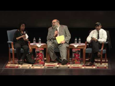 """Feminist Future: Mutual Dialogue"" featuring bell hooks, George Yancy and Harry Brod"