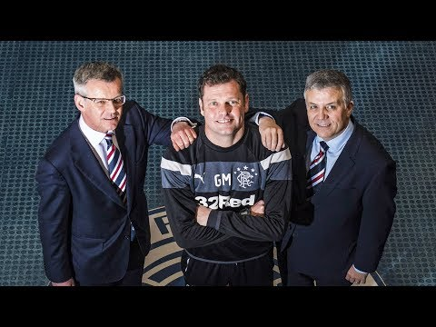 22nd December 2017 - Graeme Murty appointed Rangers Manager