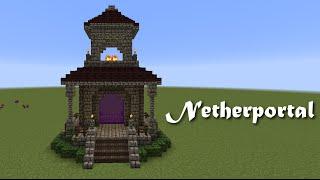 Minecraft Wunschtutorial - Netherportal