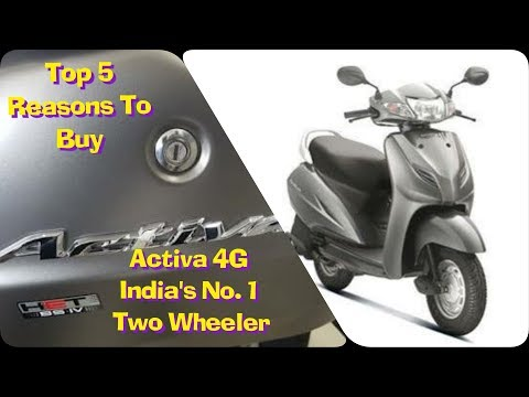 Honda Activa 4G BS4   India's largest selling   Top 5 Reasons to Buy   2018 Ownership Review  