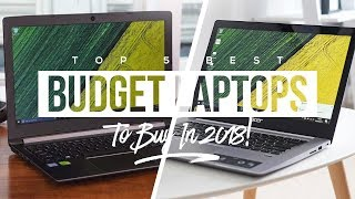 Video Top 5 Best Budget Laptops To Buy In 2018! download MP3, 3GP, MP4, WEBM, AVI, FLV Juli 2018
