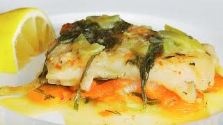 Пангасиус запеченный с овощами. Рецепт от Всегда Вкусно!