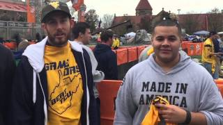 WVU Tent City and College Gameday