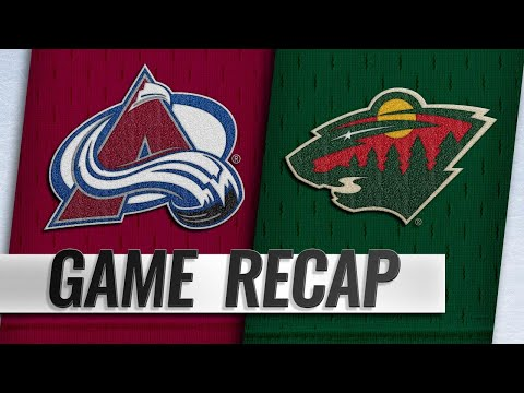Granlund, Staal lead Wild to 3-2 win against Avs