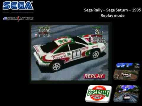 Sega Rally Replay Mode