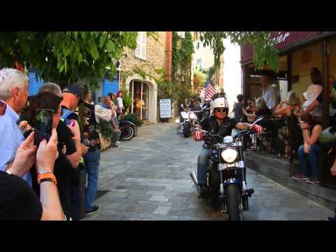 Eurofestival Harley Davidson St. Tropez 2015 Parade HD