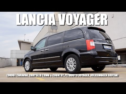 Lancia Voyager (ENG) – Test Drive and Review
