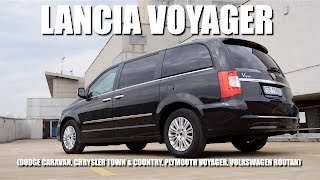 Lancia Voyager (ENG) - Test Drive and Review
