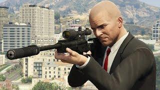 GTA 5 - HITMAN Michael VS Assassination Missions! (Contract Killer)