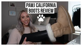 CRUELTY-FREE ALTERNATIVE TO UGGS?! | PAWJ CALIFORNIA BOOTS REVIEW