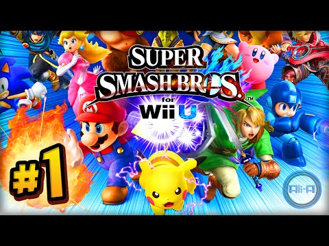 Super Smash Bros Wii U ONLINE 1vs1 - LIVE w/ Ali-A! (Smash Bros 4 Wii U / 3DS HD)
