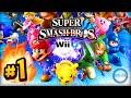 Super Smash Bros Wii U ONLINE 1vs1   LIVE w  Ali A   Smash Bros 4 Wii U   3DS HD